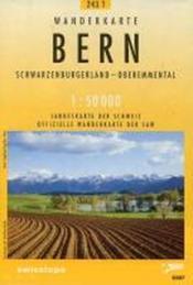 Bern pedestre - Couverture - Format classique