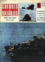 Geurres Et Batailles - 15 - La Guerre Des Convois - Couverture - Format classique