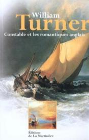 William Turner - Couverture - Format classique