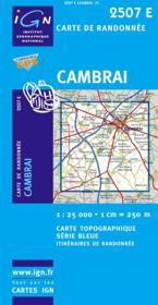 Cambrai-Ouest ; Marcoing - Couverture - Format classique