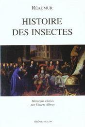 Histoire Des Insectes - Intérieur - Format classique