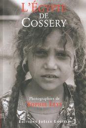L'Egypte De Cossery - Intérieur - Format classique