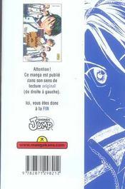Prince du tennis t.4 - 4ème de couverture - Format classique