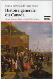 Histoire Generale Du Canada - Couverture - Format classique