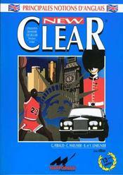 Clear: grammaire, vocabulaire, histoire, géographie, structures - Intérieur - Format classique