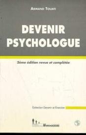 Devenir Psychologue - Couverture - Format classique