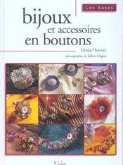 Bijoux Et Accessoires En Bouton Les Bases - Intérieur - Format classique