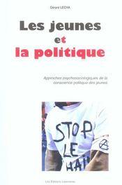 Les Jeunes Et La Politique - Intérieur - Format classique