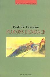 Flocons D'Enfance - Intérieur - Format classique