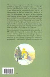 Flocons D'Enfance - 4ème de couverture - Format classique