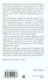 Le Lait De L'Oranger - 4ème de couverture - Format classique