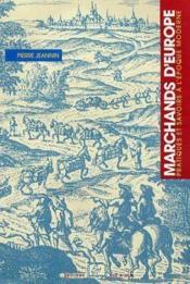 Marchands d'Europe - Couverture - Format classique