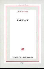 Patience - Couverture - Format classique