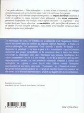 Diderot - 4ème de couverture - Format classique