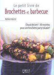 Le petit livre de brochettes et barbecue - Intérieur - Format classique