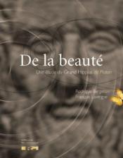 De la beauté : une étude du Grand Hippias de Platon - Couverture - Format classique