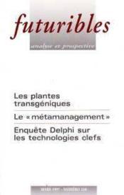 Futuribles n.218 mars 1997 - Couverture - Format classique
