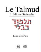 Talmud ; Babli berahot 4 t.4 - Couverture - Format classique