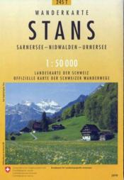 Stans ; Sarnersee, Nidwalden, Urnersee ; 245T - Couverture - Format classique