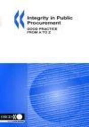 Integrity in public procurement ; good practice from a to z - Intérieur - Format classique