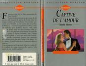 Captive De L'Amour - The Corsican Gambit - Couverture - Format classique