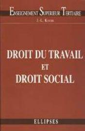 Droit Du Travail Et Droit Social - Intérieur - Format classique