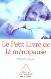 Le petit livre de la menopause (édition 2004) - Intérieur - Format classique