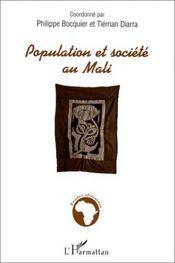 Population et société au Mali - Couverture - Format classique