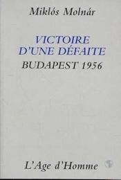 Victoire D'Une Defaite - Couverture - Format classique