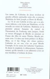 Je Ne Suis Plus A Moi, Ecrits Et Lettres - 1628 - 4ème de couverture - Format classique