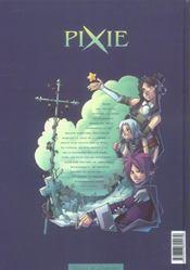 Pixie t.1 ; somnanbulia - 4ème de couverture - Format classique