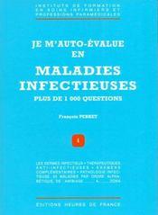Je M'Auto Evalue En Maladies Infectieuses - Intérieur - Format classique