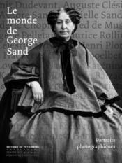 Le monde de George Sand - Couverture - Format classique