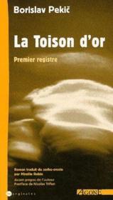 La Toison D'Or T.1 - Couverture - Format classique