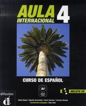 Aula internacional 4 ; libro del alumno+cd - Intérieur - Format classique