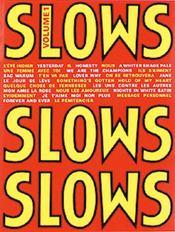 Slows t.1 ; piano, chant - Couverture - Format classique