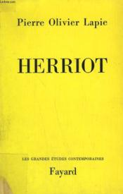 Herriot. - Couverture - Format classique