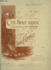 C'Est L'Heure Exquise - N°1 : Piano Et Chant Tenor Ou Soprano. - Couverture - Format classique