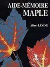 Aide-Memoire Maple - Couverture - Format classique