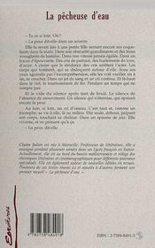 La Pecheuse D'Eau - 4ème de couverture - Format classique