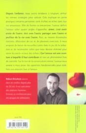 Le Grand Menage Amoureux Pour En Finir Avec L'Amour Cul-De-Sac - 4ème de couverture - Format classique