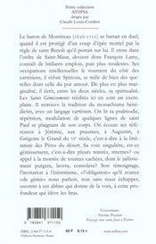 Les Saints Gemissements De L'Ame - 4ème de couverture - Format classique