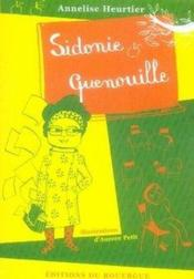 Sidonie quenouille - Couverture - Format classique
