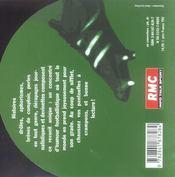 Fado Alexandrino - 4ème de couverture - Format classique