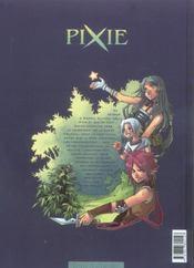 Pixie t.2 ; sierra - 4ème de couverture - Format classique