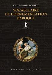 Vocabulaire De L'Ornementation Baroque - Intérieur - Format classique