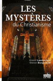 Les mystères du christianisme - Intérieur - Format classique