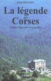 Legende des corses (la) - Intérieur - Format classique