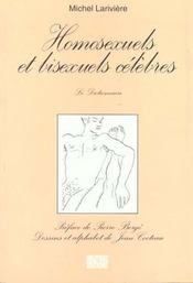 Homosexuels Et Bisexuels Celebres - Intérieur - Format classique