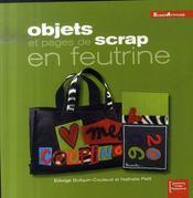 Objets Et Pages De Scrap En Feutrine - Intérieur - Format classique